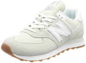 New Balance Damen 574 Pastel Pack Sneaker, Silber (Silver Birch), 36 EU