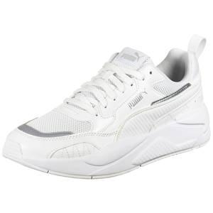 PUMA Sneaker weiß / silber