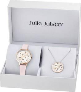 Julie Julsen Schmuckset altrosa / rosegold