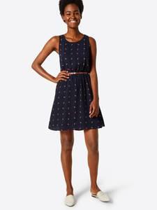 ABOUT YOU Kleid ''Susann'' dunkelblau / ocker
