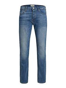 JACK & JONES Male Slim/Straight Fit Jeans Tim ORIGINAL AM 781 50SPS 3232Blue Denim