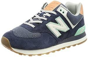 New Balance Damen 574 Sneaker, Natural Indigo, 38 EU