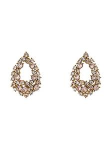 LILY AND ROSE Ohrringe ''Petite Alice'' gold / beige / transparent