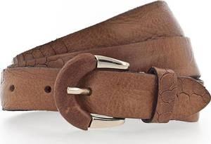 b.belt Handmade in Germany Gürtel ''Charleen'' cognac