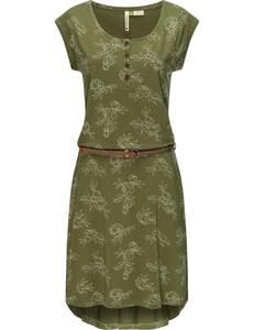 Ragwear Kleid ''Zephie'' oliv / weiß