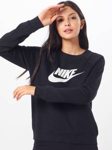 Nike Sportswear Sweatshirt ''Essntl'' schwarz / weiß
