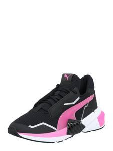 PUMA Sportschuh weiß / pink / schwarz