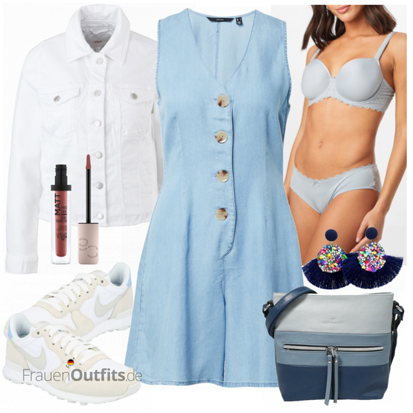 Schickes Sommer Outfit FrauenOutfits.de