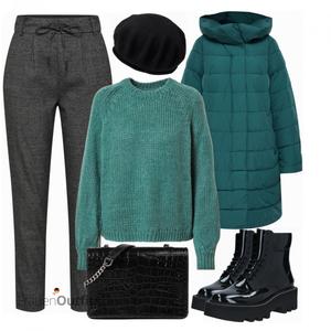 Winterlicher Look FrauenOutfits.de