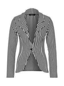 SISTERS POINT Blazer schwarz / weiß