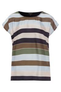 MORE & MORE T-Shirt marine / oliv / hellblau / beige