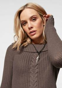 ARIZONA Pullover ''Off-Shoulder'' taupe