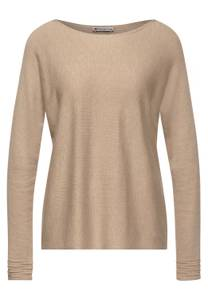 Street One Damen Pullover in Beige