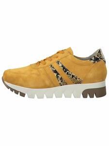 TAMARIS Sneaker braun / honig / weiß