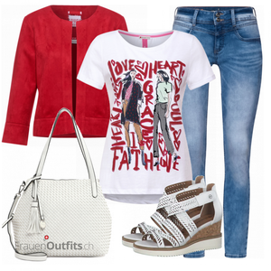 Buntes Sommer Outfit FrauenOutfits.ch