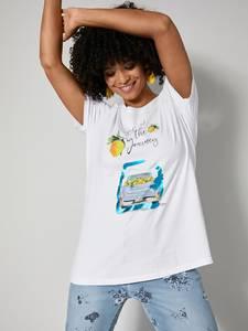 Shirt weiß/gelb/blau Angel of Style