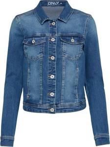 ONLY Kurze Jeansjacke blau
