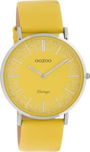 OOZOO Quarzuhr gelb