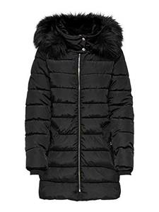 ONLY Female Steppjacke Longline SBlack