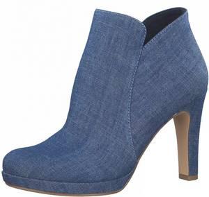TAMARIS Ankle Boots blue denim