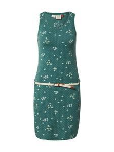 Ragwear Kleid ''Kesy'' gelb / grasgrün / weiß