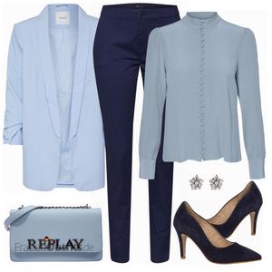 Super schönes Outfit fürsBüro FrauenOutfits.de