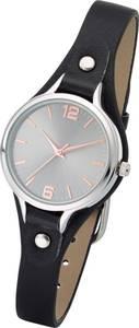 Uhr mit Nieten in schwarz für Damen von bonprix