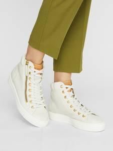 Paul Green Sneaker weiß / karamell