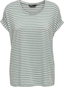 ONLY ONLMOSTER STRIPE S/S O-NECK TOP JRS NOOS Dames T-Shirt - Maat S