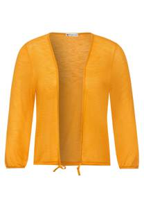 Street One Damen Offene Shirtjacke in Gelb
