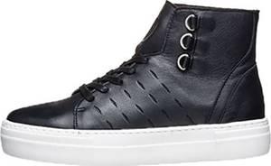 K-SWISS Leder-Sneakers in Schwarz  Größe 40