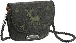 SPIETH & WENSKY Trachtentasche aus Filz dunkelgrau