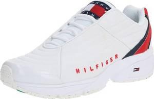 Tommy Jeans Sneaker dunkelblau / weiß / rot