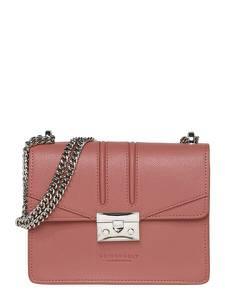 Seidenfelt Manufaktur Taschen ''Roros'' rosa / silber