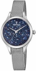 FESTINA Quarzuhr F20336/2 blau / silber