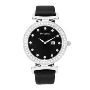 Stahlbergh Levanger Armbanduhr schwarz / silber