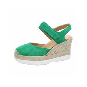 UNISA Sandalen/Sandaletten grasgrün