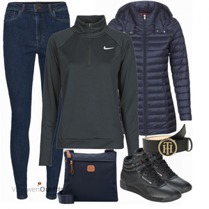 Sportieve winteroutfit VrouwenOutfits.be