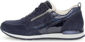 Gabor 66.367.36 Dames Sneakers - Blauw - Maat 40