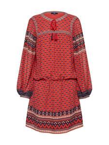TOM TAILOR Kleid Highlight Tunic mischfarben / rot