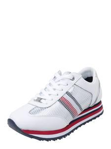 TOMMY HILFIGER Sneaker TOMMY CORPORATE FLAG blau / rot / weiß