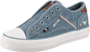 MUSTANG Sneakers Low blue denim