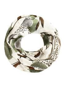 SAMAYA Loop ''Heron'' braun / weiß / schwarz