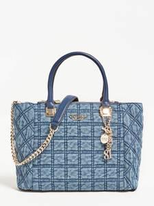 GUESS Handtasche ''Kamina'' blue denim