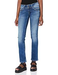 Pepe Jeans Damen Jeans Venus, 10oz Authentic Rope Str Med, 27W / 32L