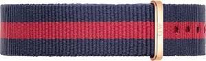 Daniel Wellington Textilband navy / rot