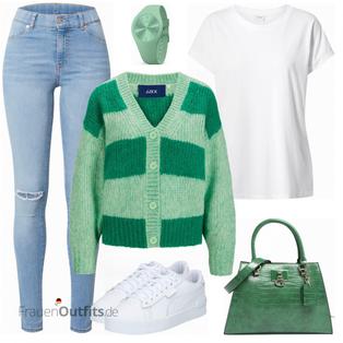 Green Causallook FrauenOutfits.de