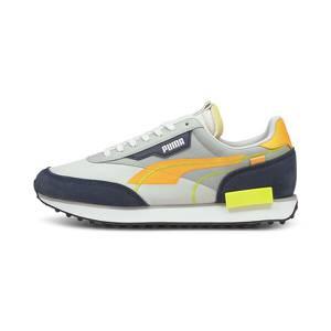 PUMA Sneaker grau / gelb