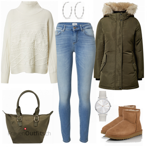 Warmes Winteroutfit FrauenOutfits.ch