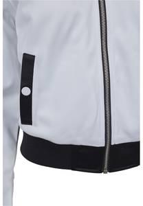 Urban Classics Jacke schwarz / weiß